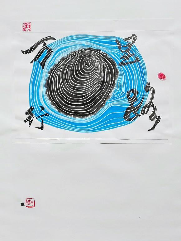 Le souvenir - Le chemin | LIV CHANG - Artiste peintre chinois