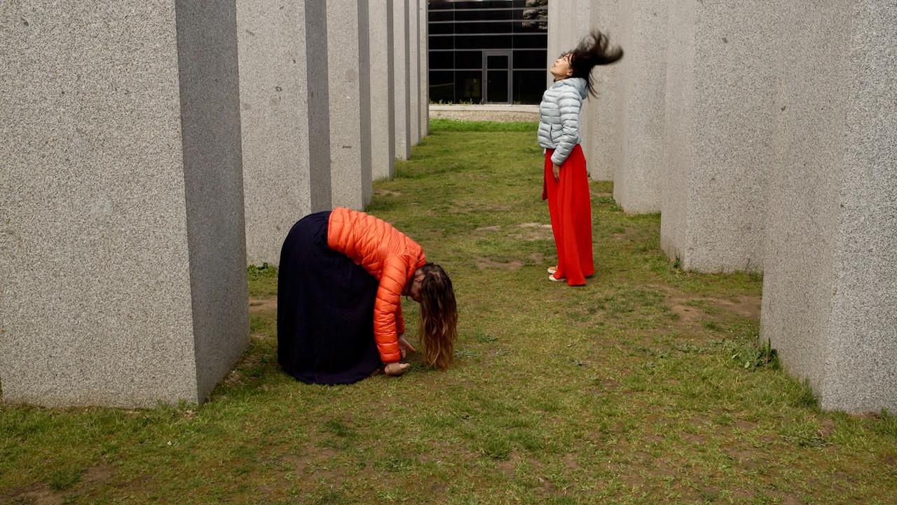 Vrencontre遇见 5   LIV CHANG - peinture et danse