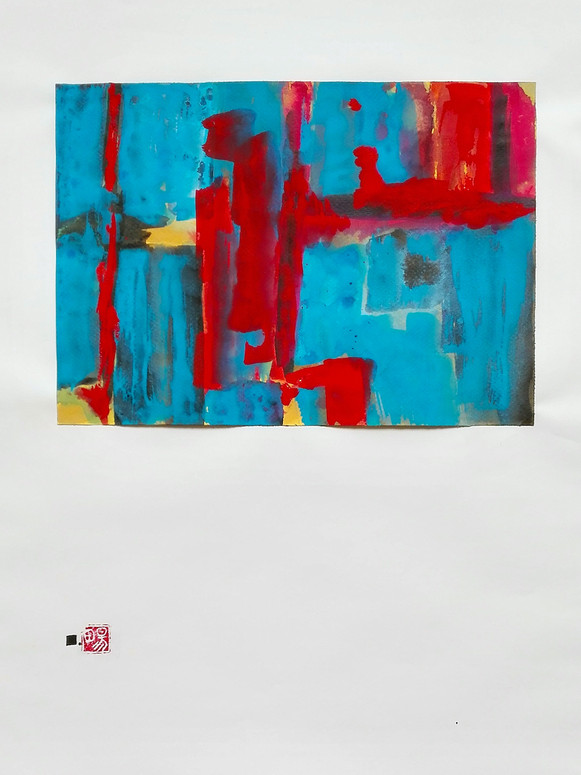 Le souvenir - L'eau | LIV CHANG - Artiste peintre chinois