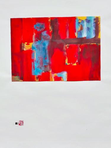 Le souvenir - Le feu | LIV CHANG - Artiste peintre chinois