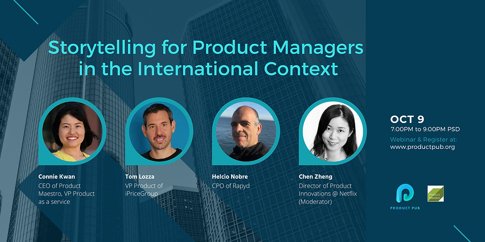 Storytelling for Product Managers in the International Context