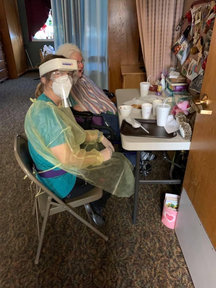 Belle Terrace - Tecumseh DonatePPE gowns