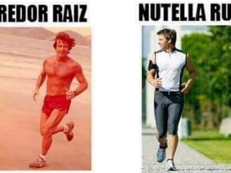 Você é corredor raiz ou Nutella?