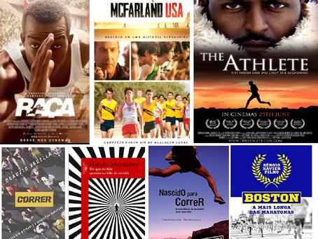 Filmes e livros sobre corrida