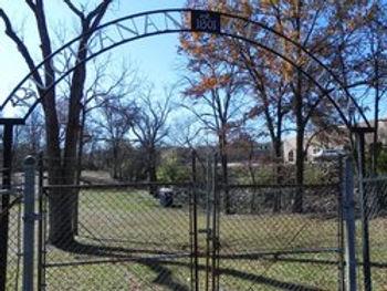 buchanan cemetery gates