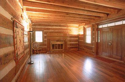 original 1807 buchanan log house