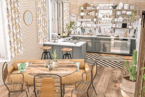 Clutter Kitchen