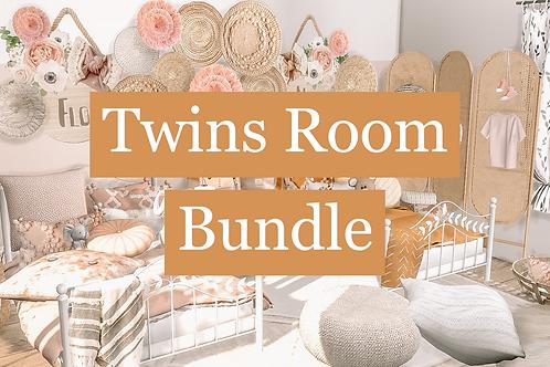 Twins Kids Room Bundle