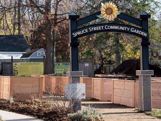 Fresh Start Pallet Products Builds 28 Raised Garden Beds for Manchester Community Garden