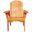 Thumbnail: Pallet Curved Back Chair