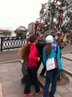 Дерево любви, г. Москва