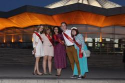 Последний звонок 2014, Москва вечер