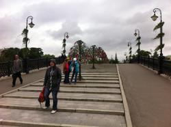 Лужковский мостик, г. Москва