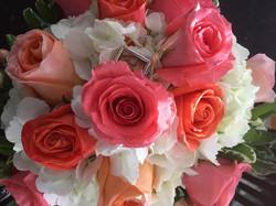Peaches & Clouds Bouquet