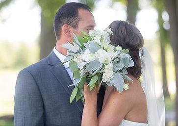 Minty Green Bouquet, Dusty Miller Bouquet, Foliage Bouquet