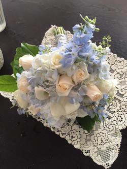 Blue Skies Bridal Bouquet
