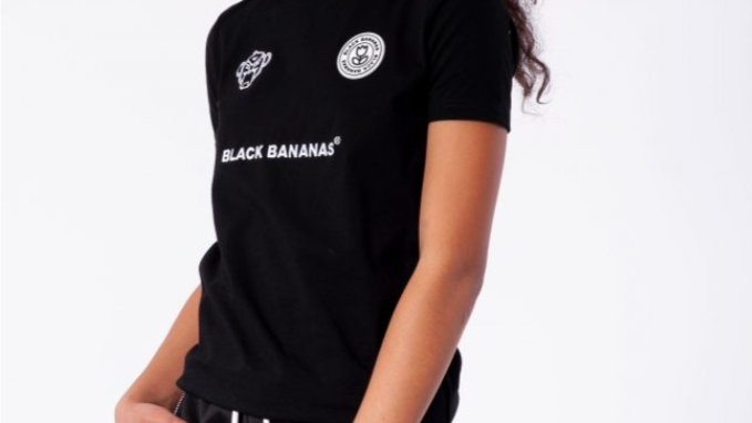 Black Bananas Basic Tee in Black