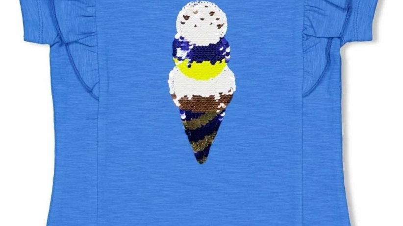 Jubel Shirt korte mouw Blue