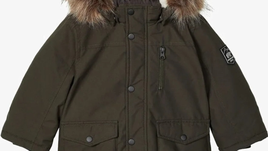 Name IT Parka Robin in Army Green