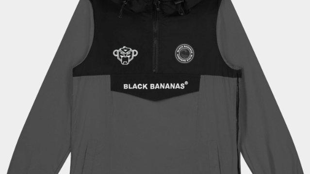 Black Bananas Anorak Windbreaker Grey