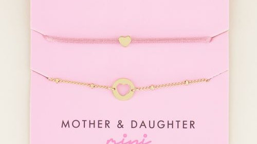 My jewellery moeder & dochter armband mini
