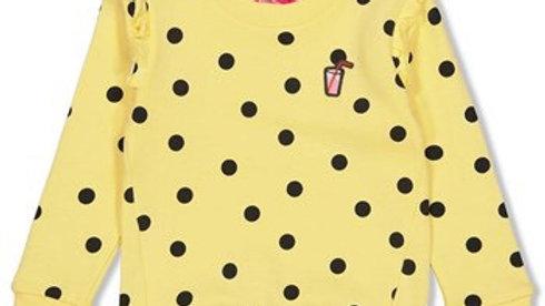 Jubel Srweater AOP Tutti Frutti in Yellow