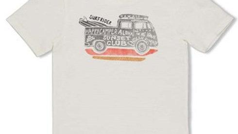 T-shirt - Happy Camper Artikelcode : 71700309 Kleur: Offwhite