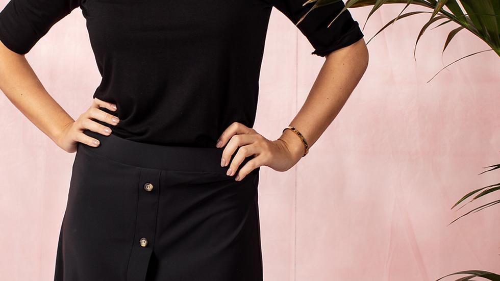 Studio Anneloes Nyah button skirt