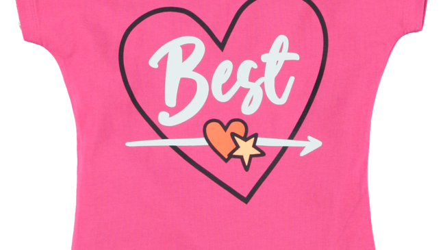 O'Chill Meisjes t-shirt - Fleur - Roze best