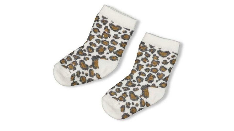 Feetje Sok Panther Cutie Zand