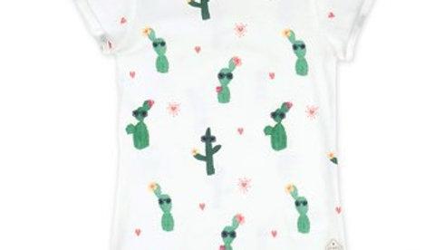 T-shirt AOP - Botanic Blush