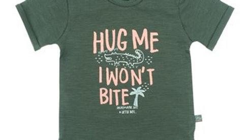 T-SHIRT HUG ME - BITE U LATER
