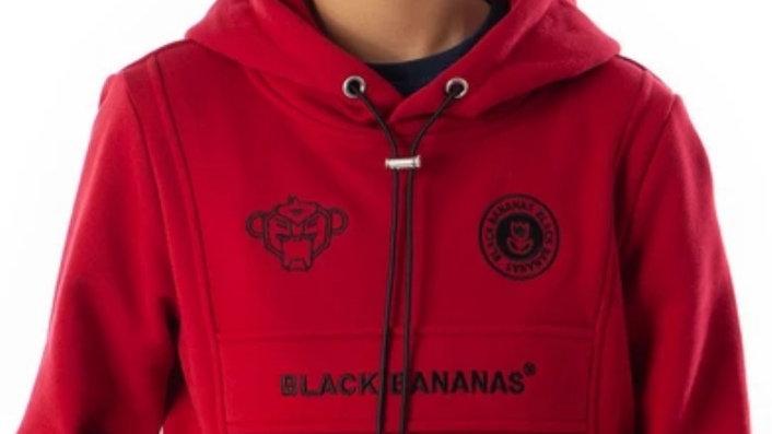 Black Bananas Anorak Kangaroo Red