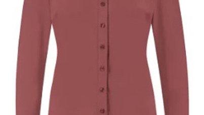 Poppy blouse in de kleur Wine Red van Studio Anneloes