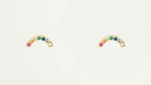 My jewellery Studs boogje strass
