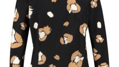 Poppy flower shirt 3/4 van Studio Anneloes