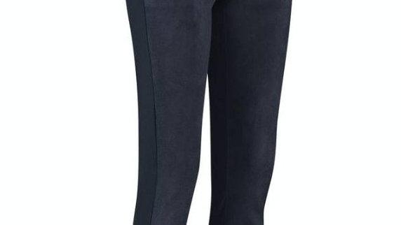 Margot suede trousers (dark blue)  van Studio Anneloes