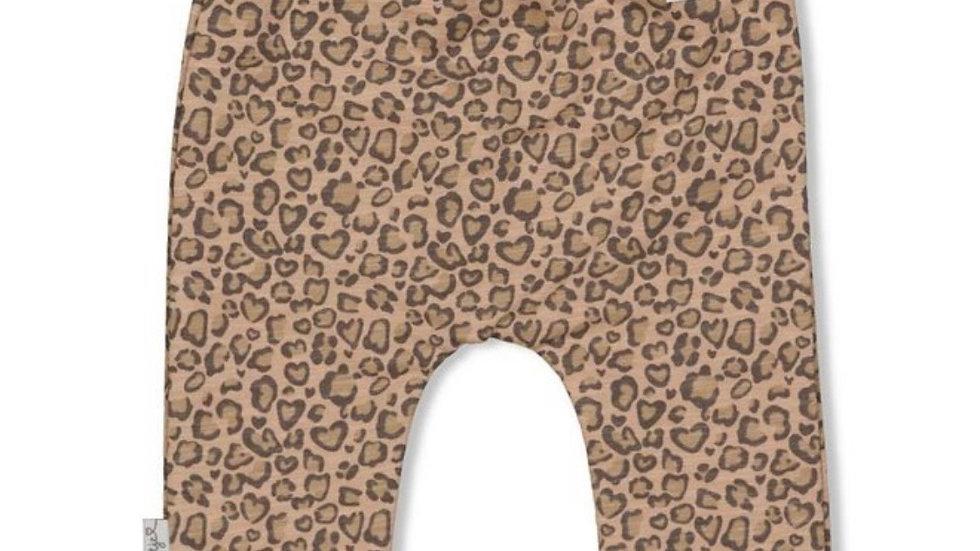 Feetje Feetje - Broek AOP Zand - Panther Cutie