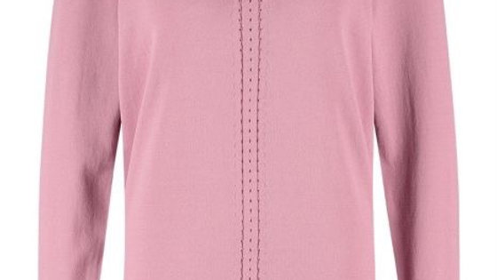 STUDIO ANNELOES PEARL PULLOVER 05408  5900 old pink