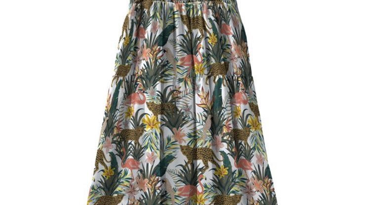 Name it - nkfvinaya strap maxi dress