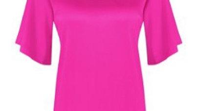Studio Anneloes Ella 2way satin shirt  05555-5800