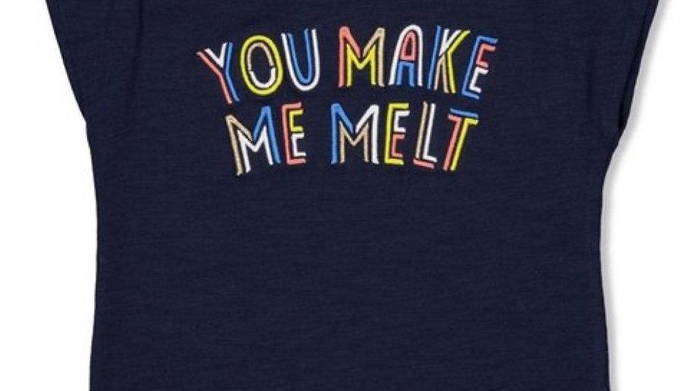 Jubel Jubel T-shirt melt marine - sweet gelato