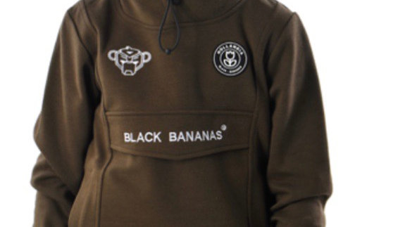 Black Bananas Mask hoody