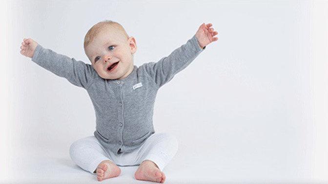 Feetje Vest - First knit