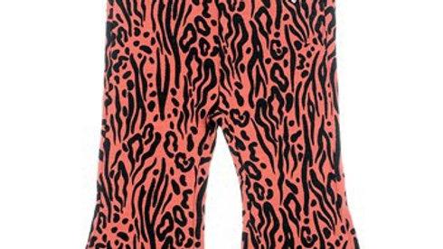 Flare broek - Zebra Artikelcode : 522.01555 Kleur: Brique