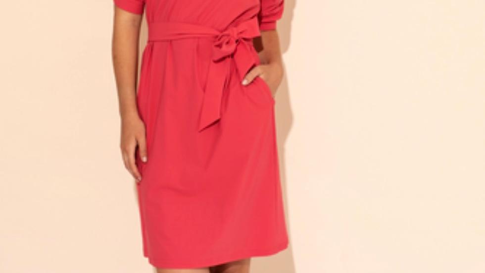 Studio Anneloes Flex dress ss cuff coral