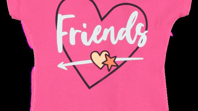O'Chill Meisjes t-shirt - Femm - Roze