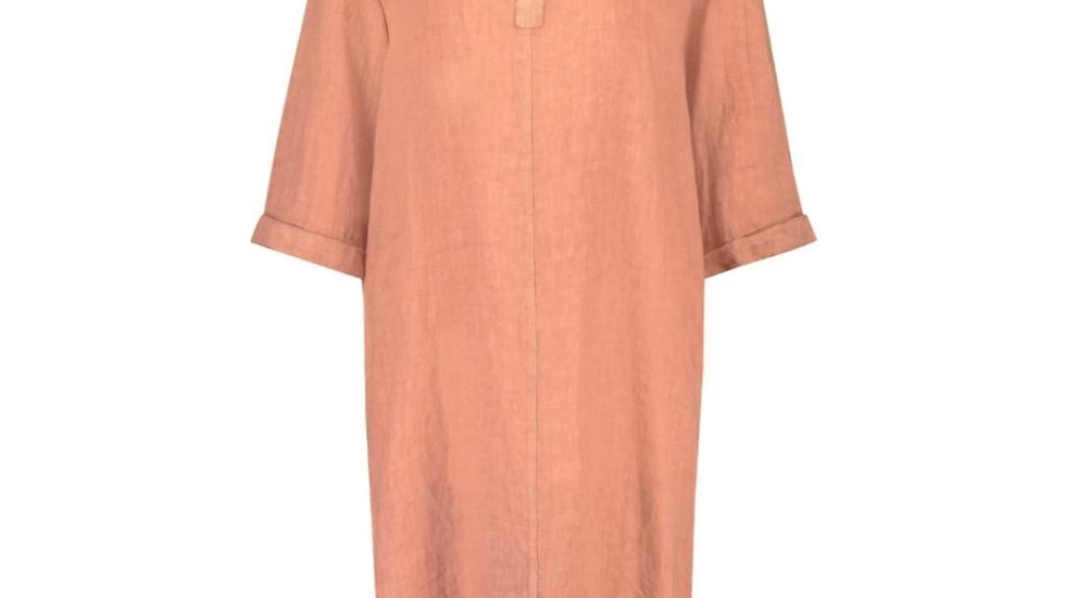 Nukus Dress Kate in Frizzy Melon
