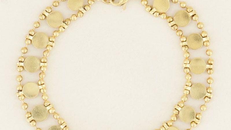 My jewellery armbandje dubbele muntjes