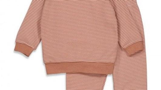 Pyjama wafel Artikelcode : 305.533 Kleur: Hazelnoot Autumn Special